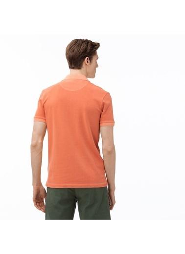 Lacoste Erkek Slim Fit Tişört PH0037.5MM Pembe